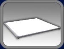 LED osvetlenie pre interiér a exteriér - Panel stropné
