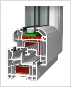 Plastové okná Aluplast Ideal 5000