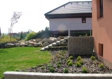 Realizace stavebních úprav v zahradě
