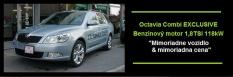 Škoda Octávia Combi III Exclusive 1,8 Tsi 118 kW