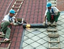 Oprava strechy z ipy