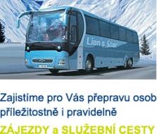 Pronájem autobusu
