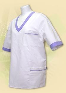 """Pracovné oblečenie - Bluzón s výstrihom do """"V"""""""