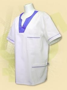 """Pracovné oblečenie - Bluzón s výstrihom malé """"V"""""""