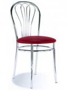 Kuchyňská židle kovová Venus
