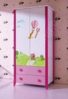 Dětská šatní skříň Julka