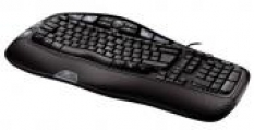 Klávesnice Logitech Wave Corded Keyboard, USB, SK
