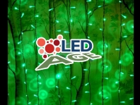 Led Curtain Light exteriér
