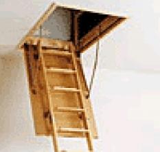 Skládací půdní schody