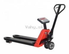 Paletový vozík s váhou - www.vahy.sk