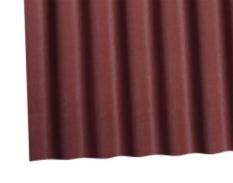 Doska Onduline (2x0,95m) - červená