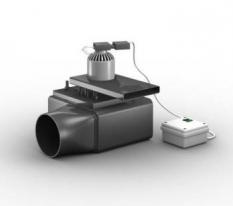 Spalinový ventilátor