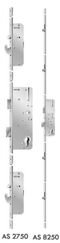 Plastové dvere - Kovanie AS8250