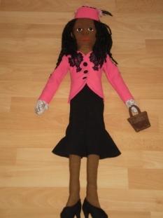 Handrová bábika Oda May