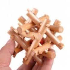 Hlavolamy z dreva - vtáčie hniezdo
