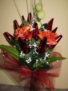 Sladké kytice - Červená horúčava