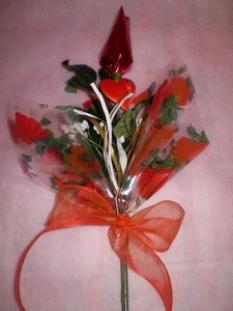 Sladké kytice - Na Valentńa 3