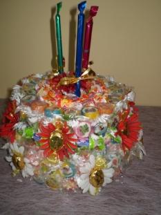 Cukríková torta