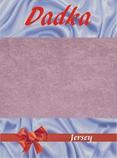 Jersey prostěradlo - fialová B