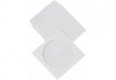 CD - rom obálky s okienkom, 125x125 mm, olizové