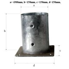 Kaslík na platničke okrúhly 80