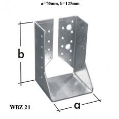 Papuča trámov WBZ21