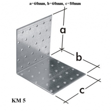 Uholníková spojka KM5