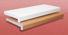 Vnútorné parapety - drevotrieskové Egger a Werzalit