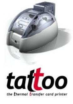 Tiskárny plastových karet Tattoo