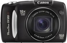 Digitálny fotoaparát Canon PowerShot SX120 IS, 10 x opt. zoom, 1