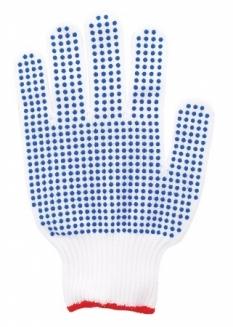Elastické rukavice, pletené, veľkosť: 7 (10ks/bal)