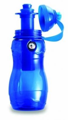 Poľná fľaša, modrá