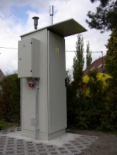 Poloautomatická stanice pro měření čistoty ovzduší