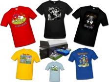 Digitálna tlač tričiek a textilu