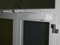 Protipožární dveře ocelové prosklené
