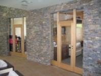 Protipožární vnitřní prosklené stěny