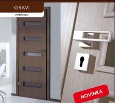 Laminátové dveře Gravi