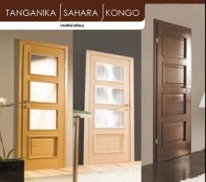 Dýhované dveře Tanganika / Sahara/ Kongo