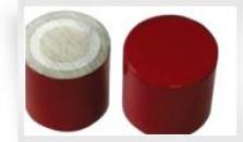 Valcový magnet AlNiCo (červený)