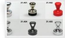 Kancelárske magnety s rúčkou