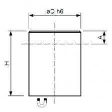 Magnetický prvok valcový s toleranciou h6, SmCo5