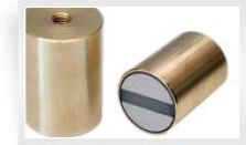 Magnetický prvok valcový s vnútorným závitom a toleranciou h6, SmCo5