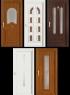 Vchodové plastové dveře