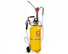 Nádoby na pneumatické odsávání a vypouštění oleje