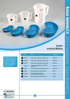 Produktová řada Warwick - Misky & operační umývadla
