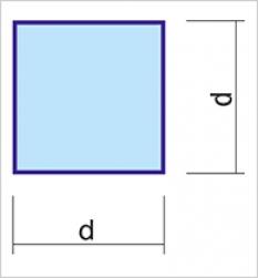 Ponúkame tyče štvorcové ťahané.