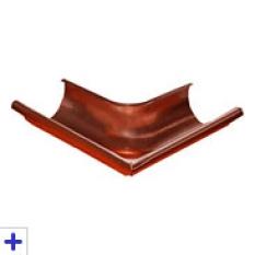 Vonkajší žľabový roh 90°