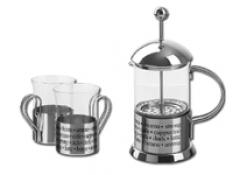 GERICK kanvica na prípravu kávy a 2 poháre
