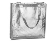 BELLUCI nákupná taška, strieborná