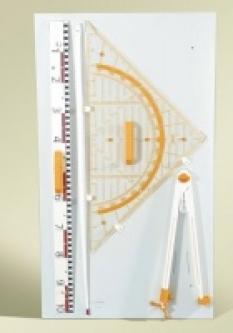 Rýsovací sada (105 x 44) - 4 díly